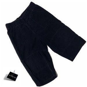 NWOT M&Co Baby Dark Blue Velvet Sweatpants 12-18mo